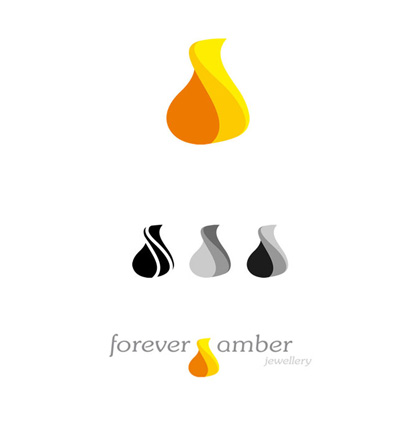 Forever Amber Jewellery sygnet